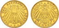 10 Mark 1910 A Lübeck Freie und Hansestadt. Etwas poliert. Vorzüglich -  2100,00 EUR kostenloser Versand