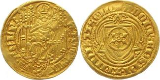 Goldgulden Gold 1379-1390 Mainz-Erzbistum ...