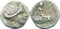 Obol  Euboia unbekannter Herrscher 3. Jrh. v. Chr.. Sehr schön  65,00 EUR