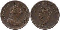 Farthing 1806 Irland Georg III. 1760-1820. Sehr schön  55,00 EUR  zzgl. 4,00 EUR Versand