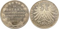Frankfurt-Stadt Doppelgulden 1849 Winz. Kratzer, vorz&uuml;glich - Stempelgla... 175,00 EUR inkl. gesetzl. MwSt., zzgl. 4,00 EUR Versand