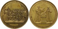 Sachsen-Albertinische Linie Bronzemedaille Anton 1827-1836.