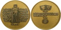 Reformation Bronzemedaille . Jahrestag des Reichstages zu Worms 1971.