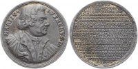 Sachsen-Eisenach Zinngussmedaille Johann Wilhelm 1698-1729.