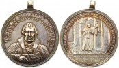 Brandenburg-Preuen Tragbare Silbermedaille Friedrich Wilhelm III. 1797-1840.