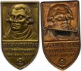 Reformation Anstecknadel Bronze . Geburtstag von Martin Luther.
