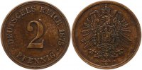 Kleinmnzen 2 Pfennig 