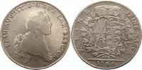 Taler 1766 Sachsen-Albertinische Linie Friedrich August III. 1763-1806.... 110,00 EUR  zzgl. 4,00 EUR Versand
