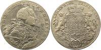 Taler 1766 Brandenburg-Bayreuth Friedrich Christian 1763-1769. Fast seh... 125,00 EUR  zzgl. 4,00 EUR Versand