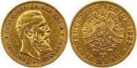 Preußen 20 Mark Gold Friedrich III. 1888.