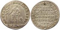 Braunschweig-Calenberg-Hannover 4 Mariengroschen Feinsilber Georg II. 1727-1760.