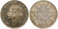1/2 Gulden 1856 Nassau Adolph 1839-1866. Sehr schön +  65,00 EUR  zzgl. 4,00 EUR Versand