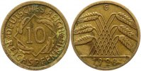 10 Pfennig 1928  G Weimarer Republik  Sehr schön  100,00 EUR  zzgl. 4,00 EUR Versand