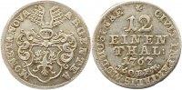 1/12 Taler 1767 Mühlhausen, Stadt  Vorzüglich  95,00 EUR  zzgl. 4,00 EUR Versand