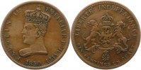 6 1/4 Centimen 1850 Haiti  Fast sehr schön  65,00 EUR  zzgl. 4,00 EUR Versand