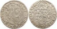 6 Gröscher 1 1627 Polen Sigismund III. 1587-1632. Sehr schön +  55,00 EUR  zzgl. 4,00 EUR Versand