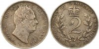 2 Gulden 1832 Demaerary and Essequibo Wilhelm 1830-1837. Fast sehr schön  275,00 EUR free shipping