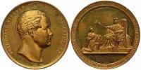 Brandenburg-Preußen Bronzemedaille Friedrich Wilhelm IV. 1840-1861.