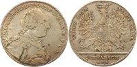 Taler 1754  K Brandenburg-Ansbach Karl Wilhelm Friedrich 1729-1757. Kna... 325,00 EUR