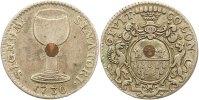 Silbernes Ratszeichen ( Weinzeichen ) 1716 Köln-Stadt  Sehr schön  55,00 EUR