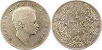 Gulden 1843 Nassau Adolph 1839-1866. Sehr schön  55,00 EUR  zzgl. 4,00 EUR Versand