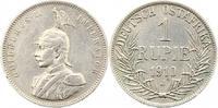 Rupie 1910  J Deutsch Ostafrika  Sehr schön  55,00 EUR  zzgl. 4,00 EUR Versand