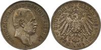 5 Mark 1907  E Sachsen Friedrich August III. 1904-1918. Sehr schön +  70,00 EUR  +  4,00 EUR shipping