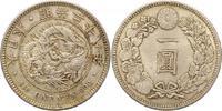 Yen 1895 Japan Mutsuhito 1867-1912. Pracht...