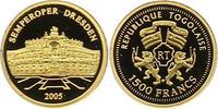 1500 Francs Gold 2005 Togo Republik. Togo Polierte Platte  55,00 EUR  +  4,00 EUR shipping