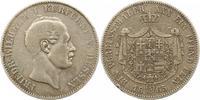 Taler 1865 Hessen-Kassel Friedrich Wilhelm I. 1847-1866. Sehr schön  85,00 EUR  +  4,00 EUR shipping