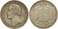 Sachsen-Coburg-Gotha Taler Ernst II. 1844-1893.