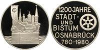 Osnabrück-Stadt Silbermedaille 1980 Polierte Platte -  20,00 EUR  zzgl. 4,00 EUR Versand