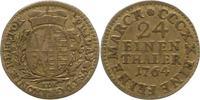 Sachsen-Albertinische Linie 1/24 Taler 1764 Sehr schön Friedrich August ... 12,00 EUR  zzgl. 4,00 EUR Versand