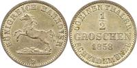 Braunschweig-Calenberg-Hannover 1/2 Groschen 1858  B Vorzüglich - Stempe... 24,00 EUR  zzgl. 4,00 EUR Versand