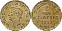 Sachsen-Albertinische Linie Neugroschen 1873  B Vorzüglich - Stempelglan... 45,00 EUR  zzgl. 4,00 EUR Versand
