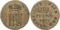 Westfalen, Königreich 4 Pfennig 1809  C Kl. Schrötlingsfehler, sehr schö... 65,00 EUR  zzgl. 4,00 EUR Versand