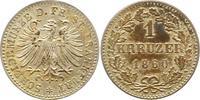 Frankfurt-Stadt Kreuzer 1860 Sehr schön - vorzüglich  10,00 EUR  zzgl. 4,00 EUR Versand
