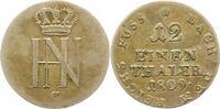 Westfalen, Königreich 1/12 Taler 1809  C Sehr schön Hieronymus Napoleon ... 32,00 EUR  zzgl. 4,00 EUR Versand