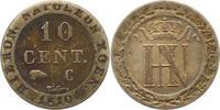 Westfalen, Königreich 10 Centimes 1810  C Sehr schön Hieronymus Napoleon... 32,00 EUR  zzgl. 4,00 EUR Versand