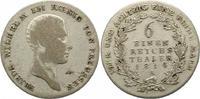 Brandenburg-Preußen 1/6 Taler 1814  A Winz. Schrötlingsfehler, schön - s... 14,00 EUR  zzgl. 4,00 EUR Versand