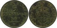 Brandenburg-Preußen 3 Pfennig 1867  B Sehr schön - vorzüglich Wilhelm I.... 6,00 EUR  zzgl. 4,00 EUR Versand