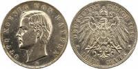 3 Mark 1912  D Bayern Otto 1886-1913. Winz. Randfehler, gereinigt, sehr... 16,00 EUR
