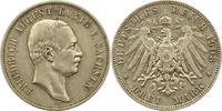 3 Mark 1908  E Sachsen Friedrich August III. 1904-1918. Sehr schön  24,00 EUR