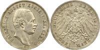 3 Mark 1911  E Sachsen Friedrich August III. 1904-1918. Winz. Kratzer, ... 20,00 EUR