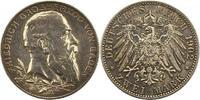 2 Mark 1902 Baden Friedrich I. 1856-1907. Schöne Patina. Vorzüglich  28,00 EUR