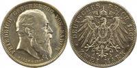 2 Mark 1907 Baden Friedrich I. 1856-1907. Vorzüglich  60,00 EUR