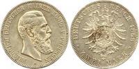 2 Mark 1888  A Preußen Friedrich III. 1888. Winz. Kratzer, fast vorzügl... 65,00 EUR