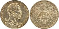 2 Mark 1905 Schwarzburg-Sondershausen Karl Günther 1880-1909. Vorzüglic... 110,00 EUR