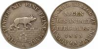 Ausbeutetaler 1855  A Anhalt-Bernburg Alexander Carl 1834-1863. Winz. H... 85,00 EUR