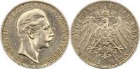 3 Mark 1908  A Preußen Wilhelm II. 1888-1918. Sehr schön  16,00 EUR
